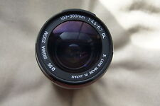 Sigma DL 100-300 f4.5-6.7 Zoom Lens in Very Good Condition (Black)