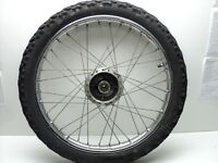 Honda XL125 XL 125 #5083 Chrome Front Wheel & Tire
