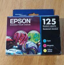 2018 NIB Genuine EPSON 125 Color Inks T125520 (T1252 T1254) T125 NX420 125 127