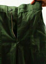 Vintage OG 507 type 1 Sateen UTILITY TROUSERS 26W 29L Pants 26x29