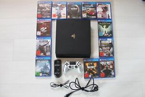 PlayStation 4 Pro 1tb PS4 Konsole + 12 Spiele + Controller Bundle Set