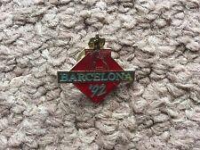 25th Summer Olympic Barcelona 1992 Pin Badge