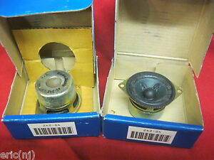 Radio Shack Full-Range Shielded Video 2 watts RMS Speaker 40-242 pair of 2