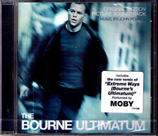 The Bourne Ultimatum John Powell Moby OST bande son Waterloo Extreme Ways CD