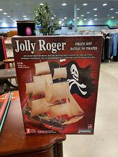Lindberg Jolly Roger Pirate Ship Model   e