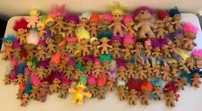 Lot of 82 Vintage Troll Dolls - Russ Tnt Toys Trolls Collection Nt