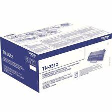 1 x Brother OEM Original Black Toner Cartridge TN3512 - L6300,L6400,12,000 Pages