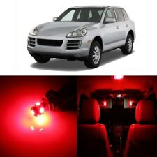 21 x Error Free Red LED Interior Light For 2003 - 2010 Porsche Cayenne + TOOL