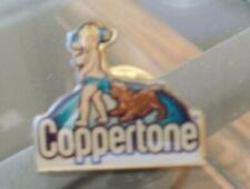 Coppertone Girl  pinback - lapel pin