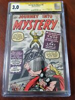 Journey into Mystery #85 CGC SS 3.0 WHITE Pages Stan Lee 1st Loki 3rd Thor KEY!