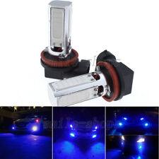 2pcs H11 Ultra Blue 4COB High Power LED Driving Fog Lights Daytime Running Light