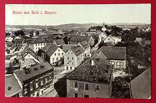 AK SELB in Bayern 1906 Blick über die Dächer der Stadt  ( 11379