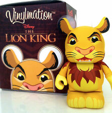 "DISNEY VINYLMATION 3"" THE LION KING SERIES ADULT SIMBA COLLECTIBLE TOY FIGURE"