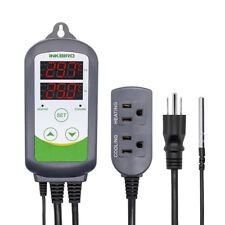 110V Digital Mash Temperature Controller Thermostat Hydroponic Fermentation Brew