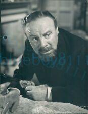 "Press photo 1938 South Riding Edmund Gwenn Mr Hughes  9.5*7.25"""