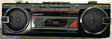 Vintage Soundesign Boombox Portable Am Fm Radio Cassette Player Recorder Stereo