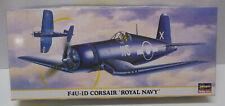 KIT -  1/72 ROYAL NAVY F4U-1D CORSAIR CARRIER-BORNE FIGHTER AIRCRAFT KIT