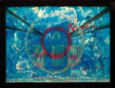 Message From Space des signaux de l'espace peintures 70 x 96 cm 1998 Jòzsef Toth * 1944