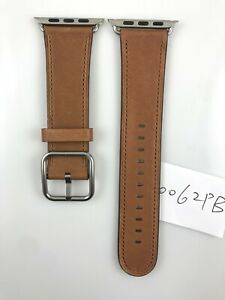 Original Apple Watch 42MM 44MM 45MM Classic Buckle leather band Saddle Brown