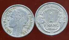 FRANCE FRANCIA  1 franc MORLON ALU 1944C