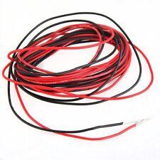5x(2 x 3 M 22 Gauge AWG Silikon-Gummi-Draht-Kabel Rot Schwarz Flexibel GY