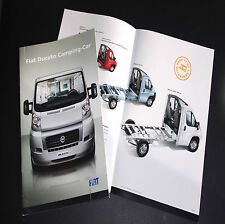 FIAT DUCATO_CAMPING-CAR Brochure Prospectus catalogue pub