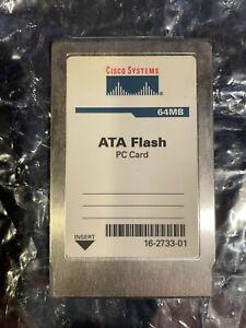 CISCO SYSTEMS 64MB ATA FLASH PC CARD 16-2733-01