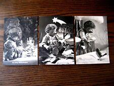 """3x verschiedene Mecki-Karte Weihnachtskarte von Diehl Film """"HÖR ZU"""" 100 102 105"""