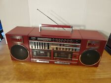 VINTAGE 1980s FISHER STEREO BOOMBOX PH-463 RARE RED VERSION