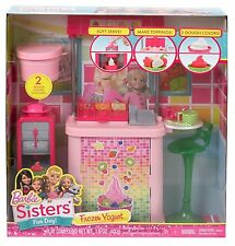 New Barbie Sisters Malibu Ave. Frozen Yogurt Shop New