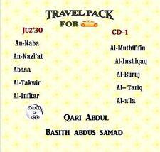 Al Quran Audio CD for cars - Abdul Basith Abdul Samad Juz' Amma Cd-1