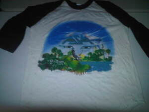 Asia New 1983 83 Invasian Alpha Tour Shirt 100% Authentic Tag Says Large * Band