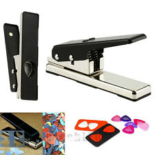 New Professional Guitar Plectrum Punch Picks Maker Card Cutter DIY Own Black
