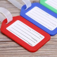 Suitcase / Luggage ID Tags Labels NAME ADDRESS ID Bag TRAVEL ~LM sdRQv Nice