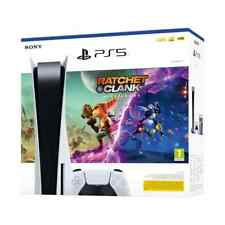 PlayStation 5 + gioco Ratchet & Clank Rift Apart, Sony PS5 con lettore disco new