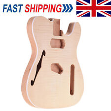 More details for diy handcrafted telecaster electric guitar body mahogany wood barrel parts h3y5