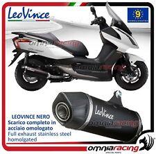 Leovince Nero Echappement complet acier Kymco Dink street/Superdink 125 09>16