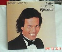 JULIO IGLESIAS 1100 BEL AIR PLACE 33 RPM LP 1984 COLUMBIA ACCEPTABLE + CHEAP!