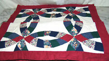 """Set of 2~Beautiful Wedding Pattern Quilted Shams  30"""" X 24"""" ~bx 21X"""
