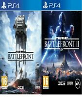 Star Wars Battlefront 1 & 2  PS4 Bundle Mint Same Day Dispatch 1st Class Del*