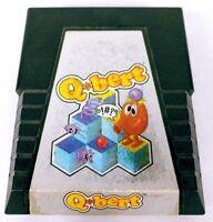 Qbert (Atari 2600, 1983) Game Cartridge Only No Box