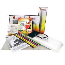 New Deluxe! FIREWORKS Glass Beadmaking Torch STARTER KIT MAKE GLASS BEADS DVD