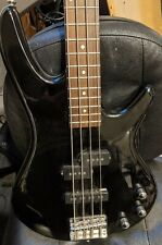 Ibanez GIO GSR200 4 string black Electric Bass Guitar, Used, with strap & cable!