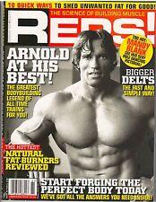 REPS! bodybuilding muscle magazine/ARNOLD SCHWARZENEGGER Issue #9 Spring 2008