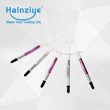 5 x Halnziye HY880 0.5g Slim tube Nano-Carbon Thermal Grease Paste (5.15 W/m-k)