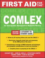 First Aid for the COMLEX, Second Edition (First Aid Series) by Nye, Zachary, La