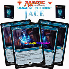 MTG 4 X Brainstorm - SIGNATURE SPELLBOOK JACE BELEREN - ENGLISH Limited Edition