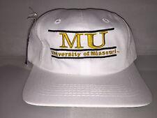 Vtg Missouri Tigers Snapback hat cap rare 90s THE GAME nwt NCAA College Football