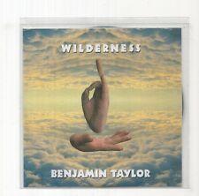 (JB846) Benjamin Taylor, Wilderness - 2009 DJ CD