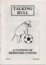 Hereford United fanzine TALKING BULL  Issue # 1 1989